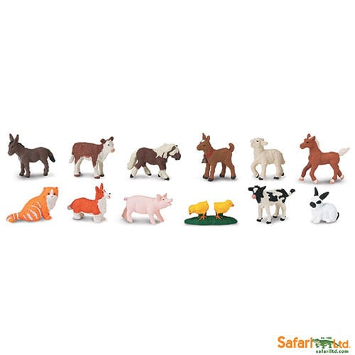 Safari Ltd Farm Babies Toob 681204