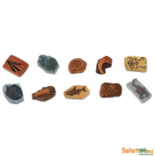Safari Ltd Ancient Fossils Toob 684804