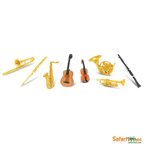 Safari Ltd Musical Instrument Toob 685404