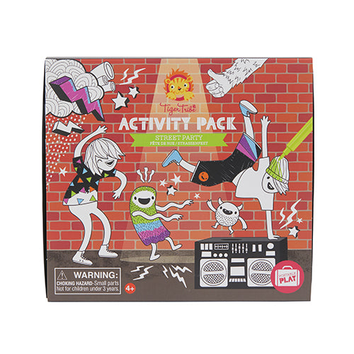 Tiger Tribe Activity Pack Street Dance