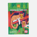 Tiger Tribe Hidden Pattern Set Animals