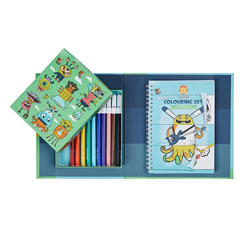 Tiger Tribe Mash Up Colouring Set Monster Mash