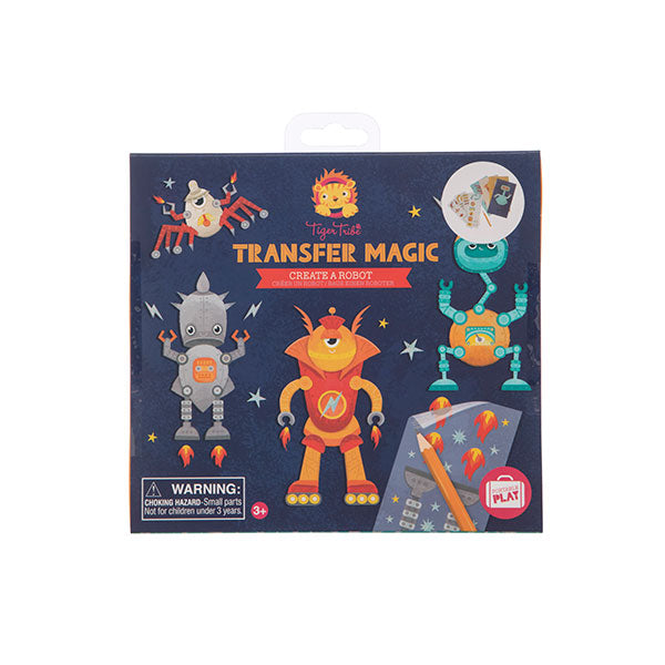 Tiger Tribe Transfer Magic Create A Robot 6 0311