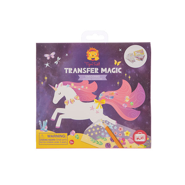 Tiger Tribe Transfer Magic Unicorns 6 0312
