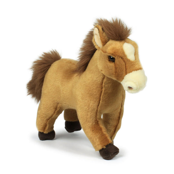 WWF Plush Brown Horse