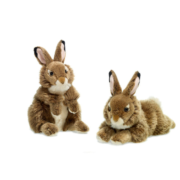 WWF Plush Brown Hare