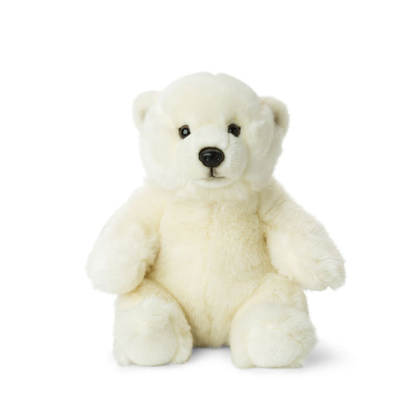 WWF Plush Sitting Polar Bear 22 cm