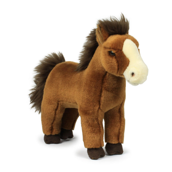 WWF Plush Red Brown Horse