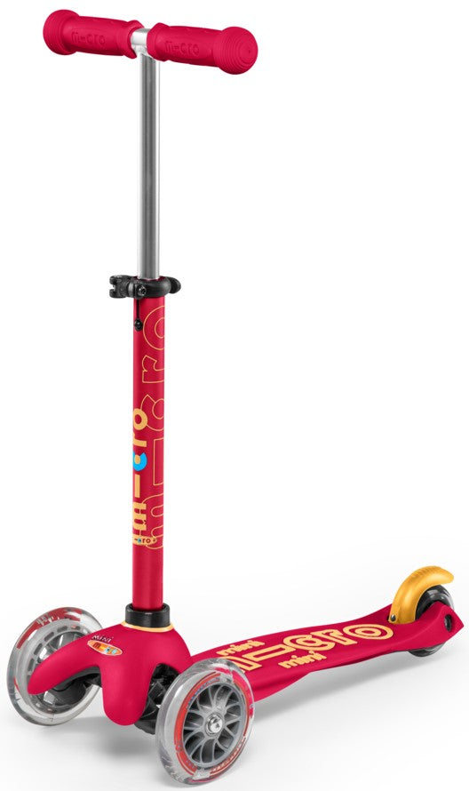 Scooters For Kids SA Micro Mini Deluxe Scooter Ruby Red