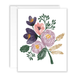 Floral Bouquet Stationery Pack of 10