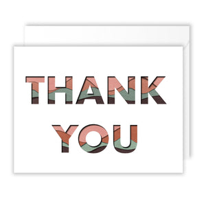 Paper Layer Thank You Pack of 10