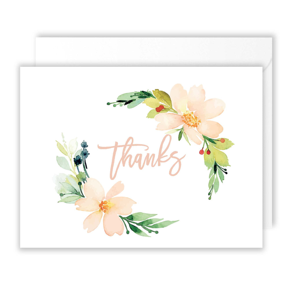 Wallflower Thank You Pack of 10