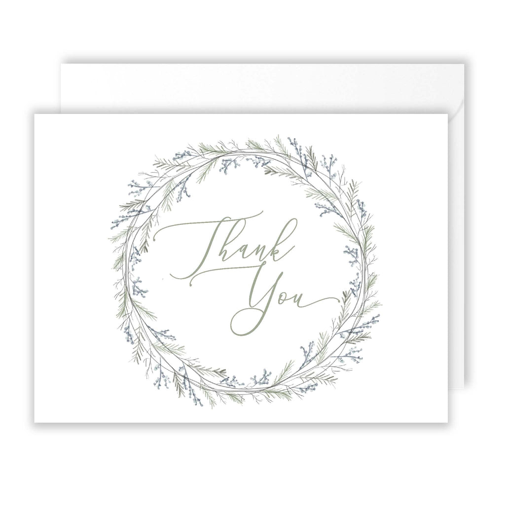 Winter Thank You Pack of 10