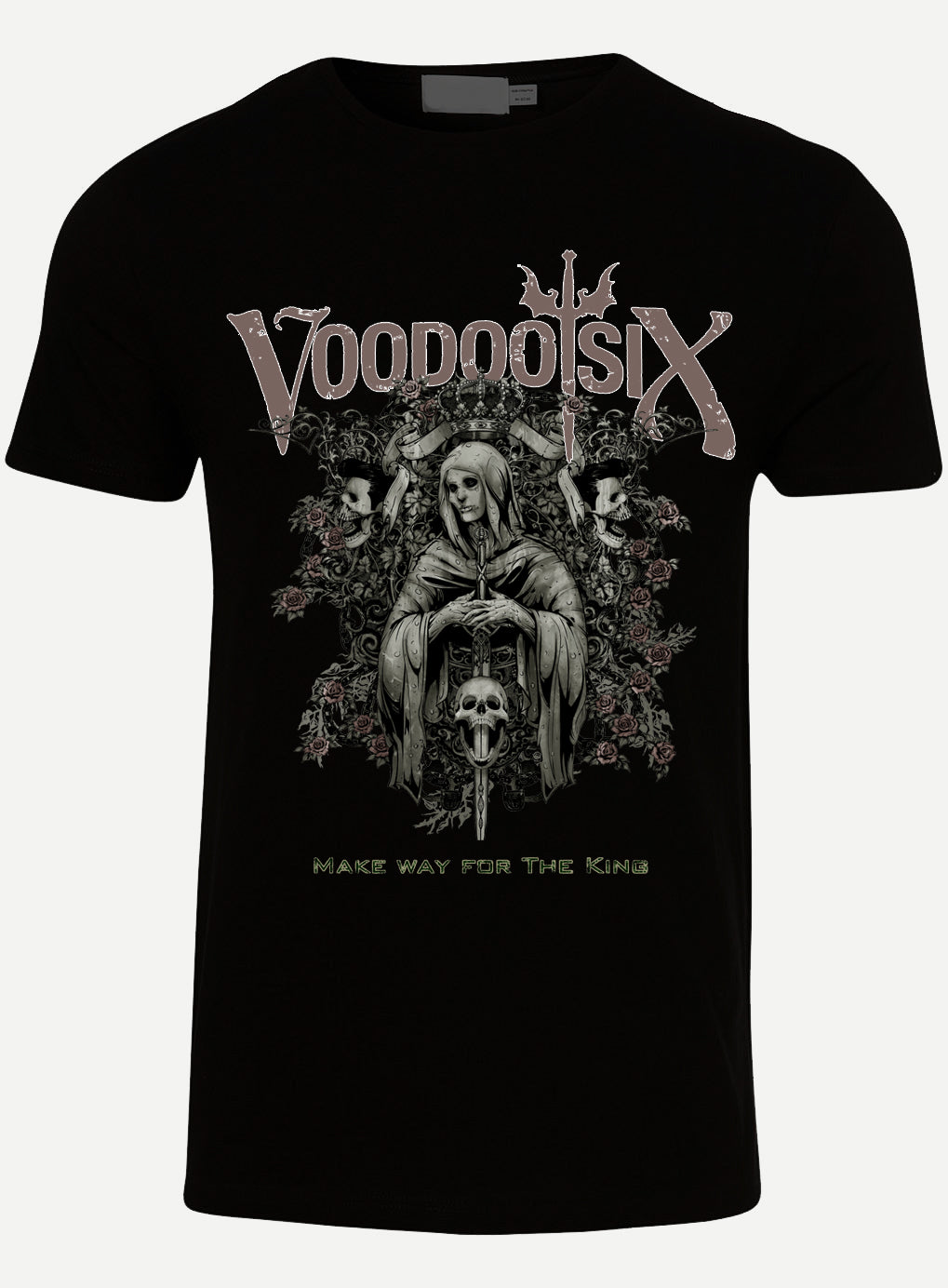 Voodoo Six Make Way for the King t shirt