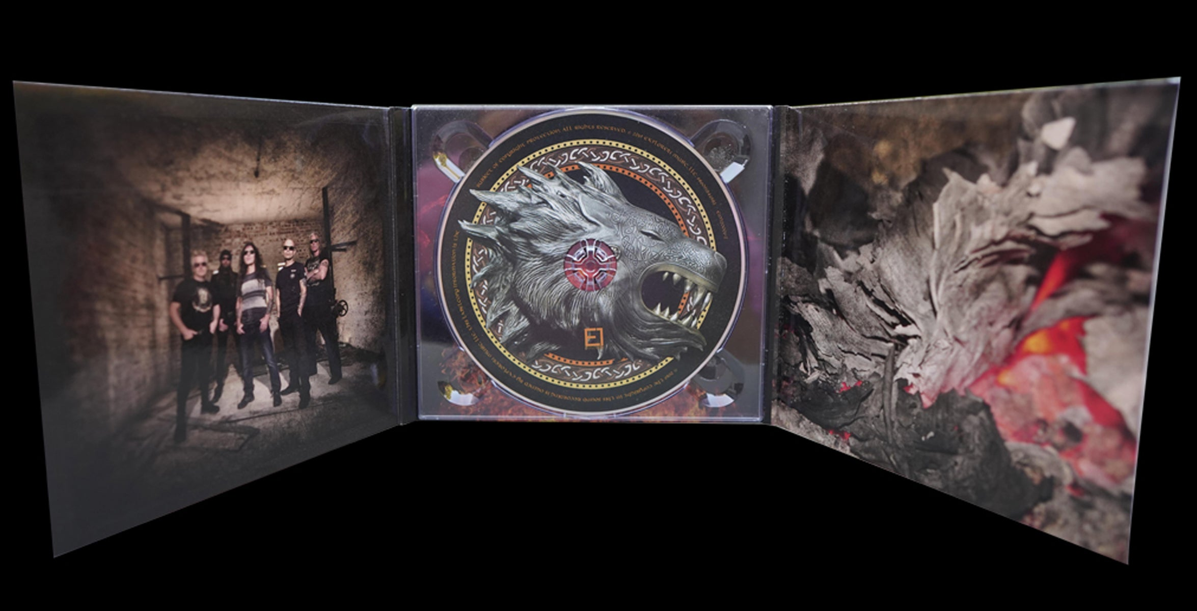 "British Lion ""The Burning"" [Digipak CD] 6-Panel Fold Out + 20-page Booklet + Digital Download"