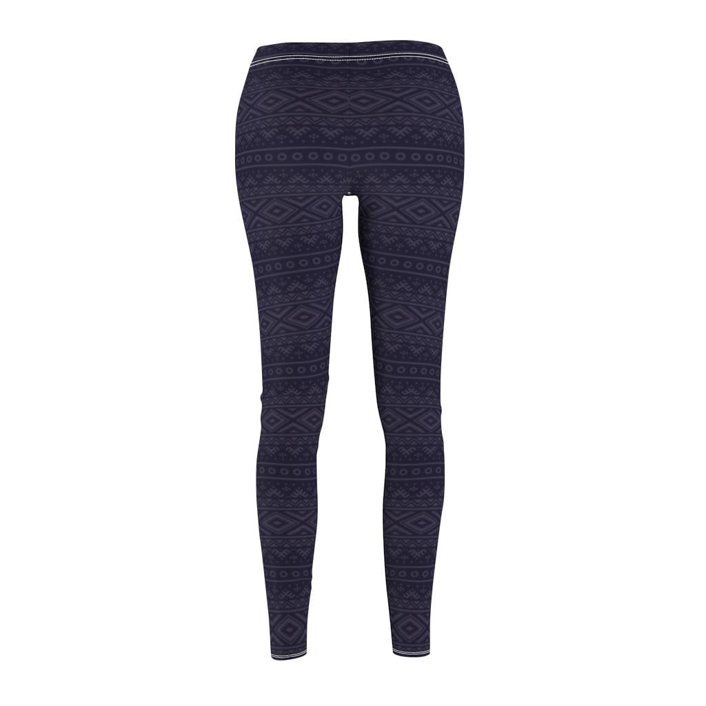 Printify Leggings Charcoal Hendira Mid-Rise Leggings