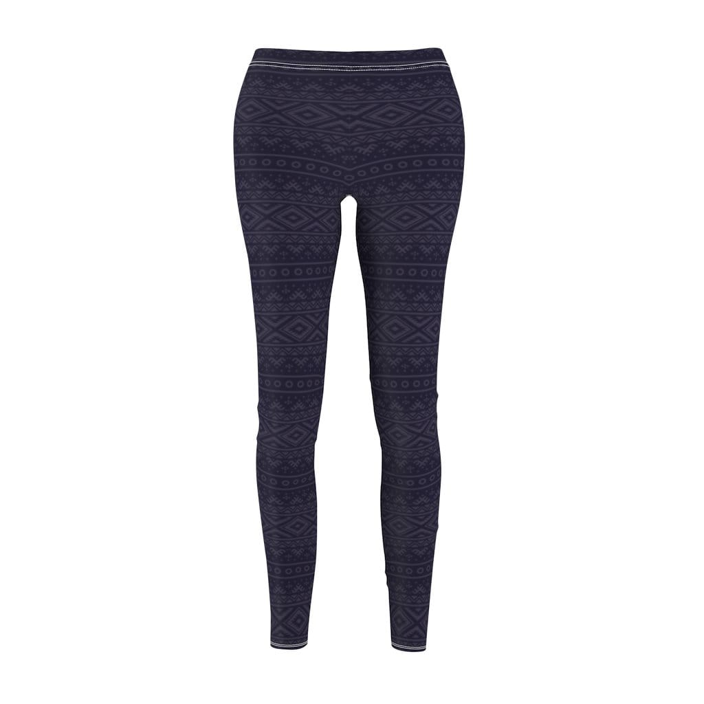 Printify Leggings M Charcoal Hendira Mid-Rise Leggings