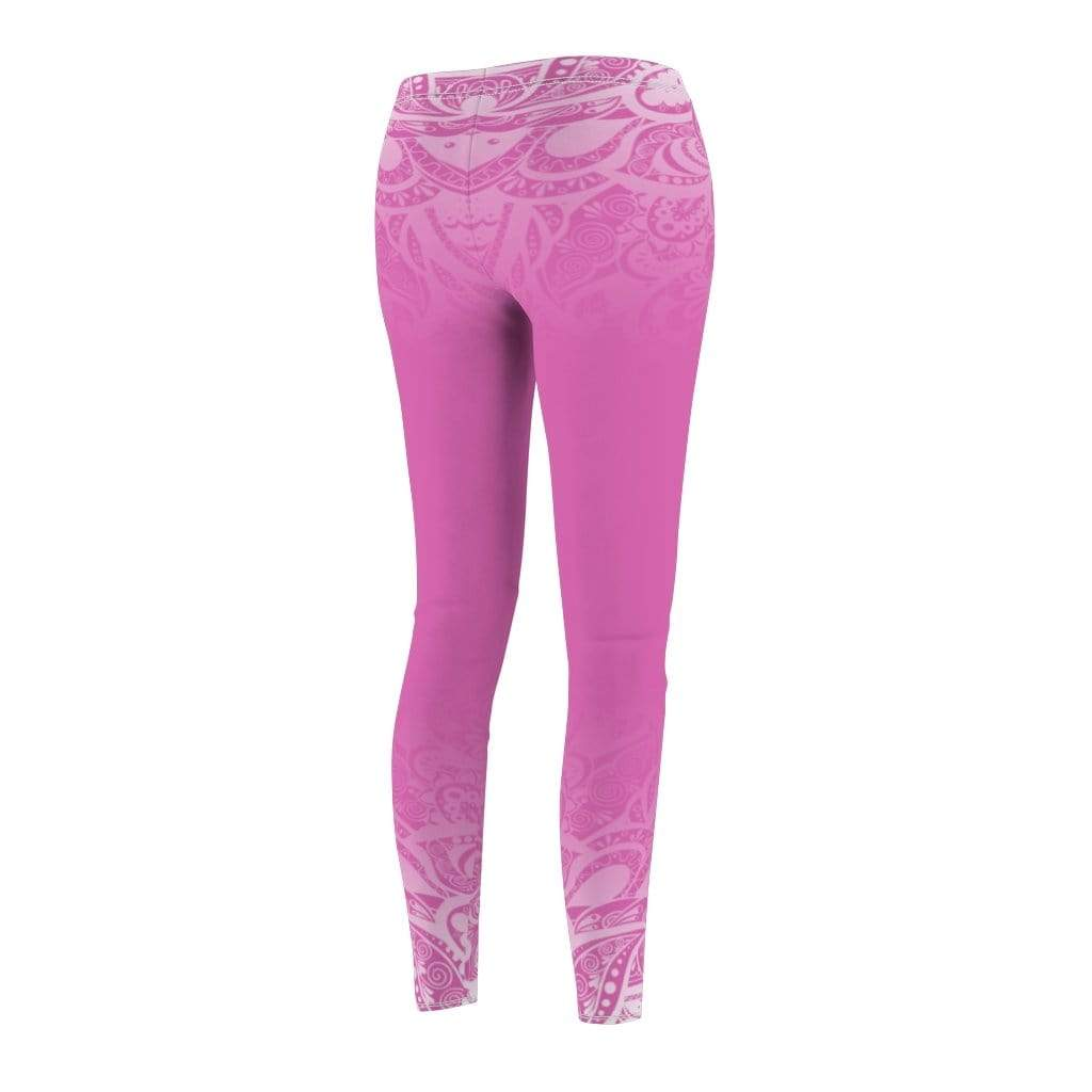 Printify Leggings Paisley Mid-Rise Leggings
