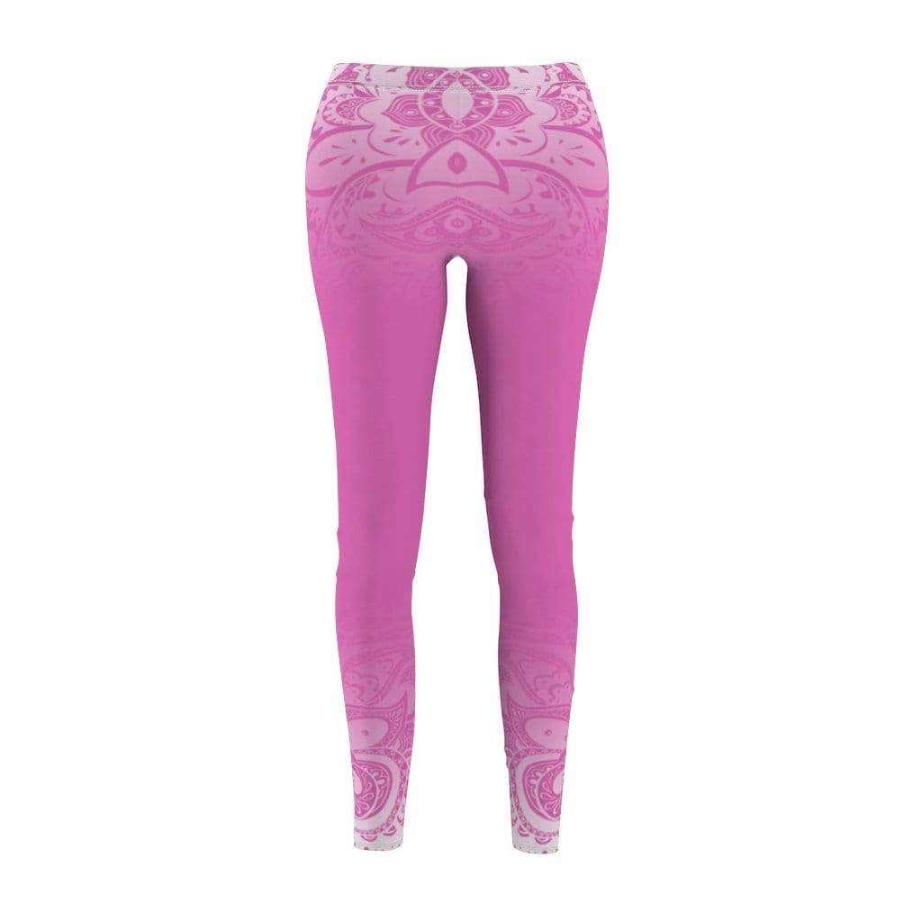 Printify Leggings M Paisley Mid-Rise Leggings