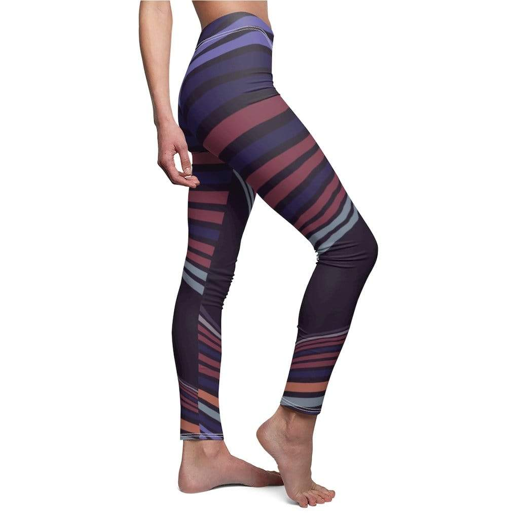 Printify Leggings Ray Mid-Rise Leggings