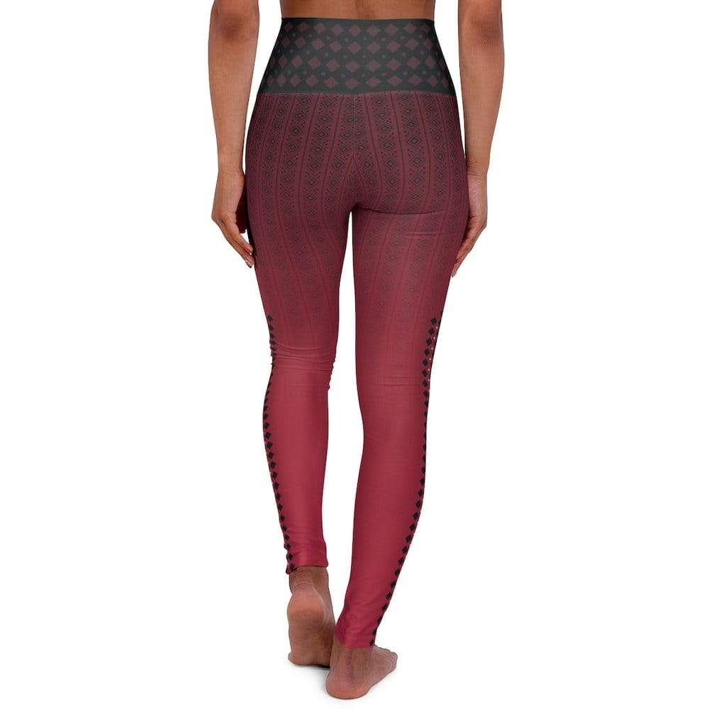 Printify All Over Prints High Waisted Yoga Leggings