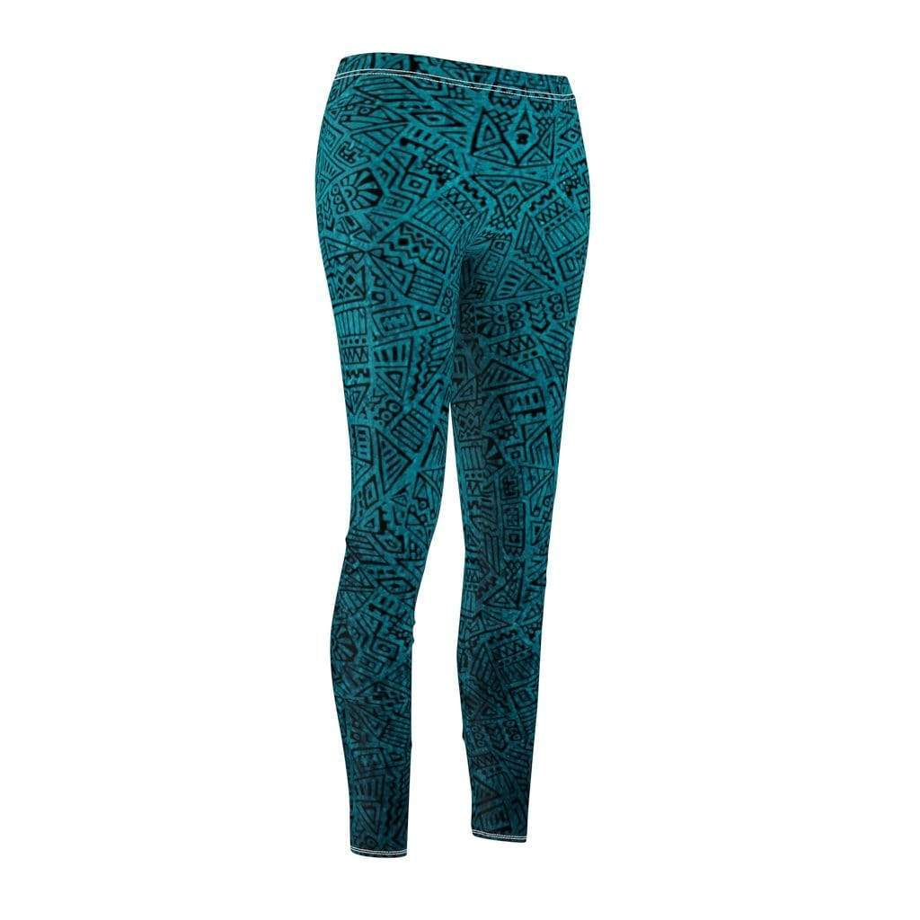 Printify Leggings Geo Mid-Rise Leggings
