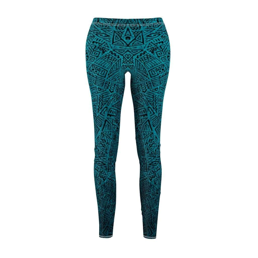 Printify Leggings M Geo Mid-Rise Leggings