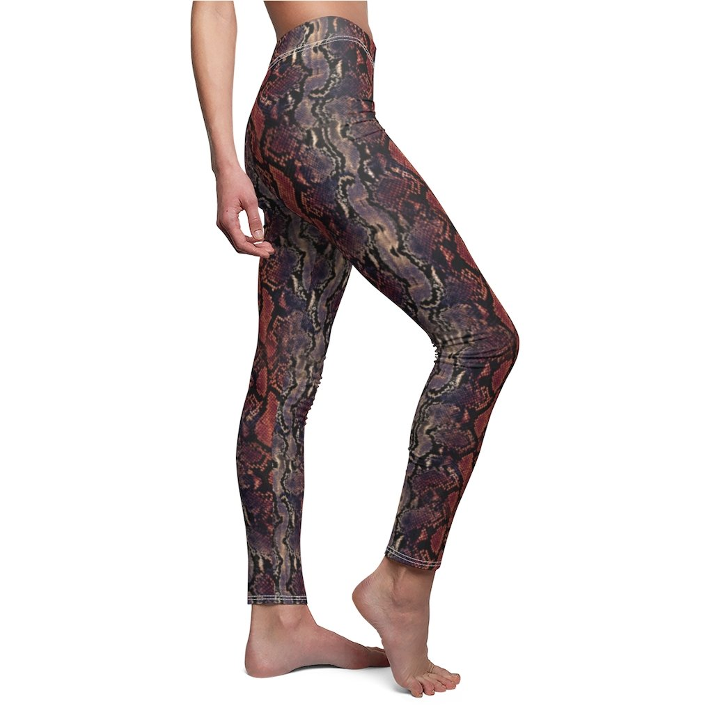 Printify All Over Prints Women's Cut & Sew Casual Leggings