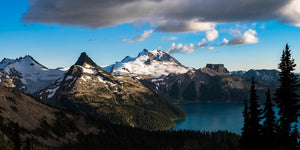 Garibaldi Lake Panorama - Mike Crane Photography