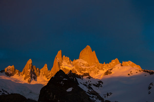 Mount Fitz Roy sunrise - Mike Crane Photography