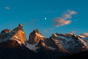 First light on the Cuernos - Mike Crane Photography