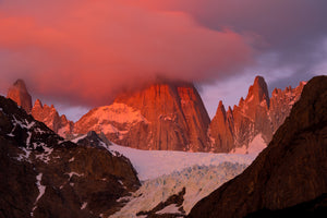 Patagonia fine art photography - Monoprint of Mount Fitz Roy