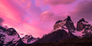 Cuernos del Paine Sunset - Mike Crane Photography