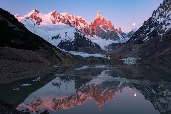 Lago Torre Sunrise - Mike Crane Photography
