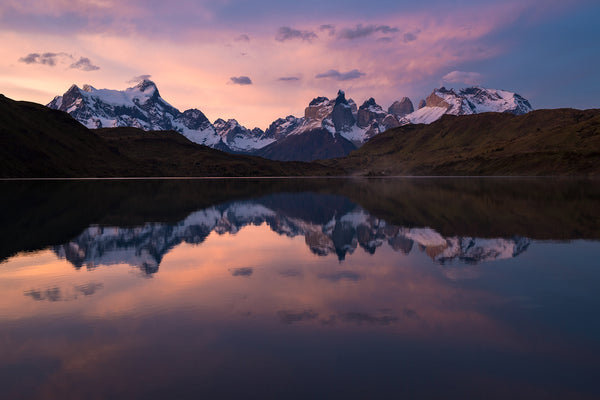 Torres del Paine sunset - Mike Crane Photography