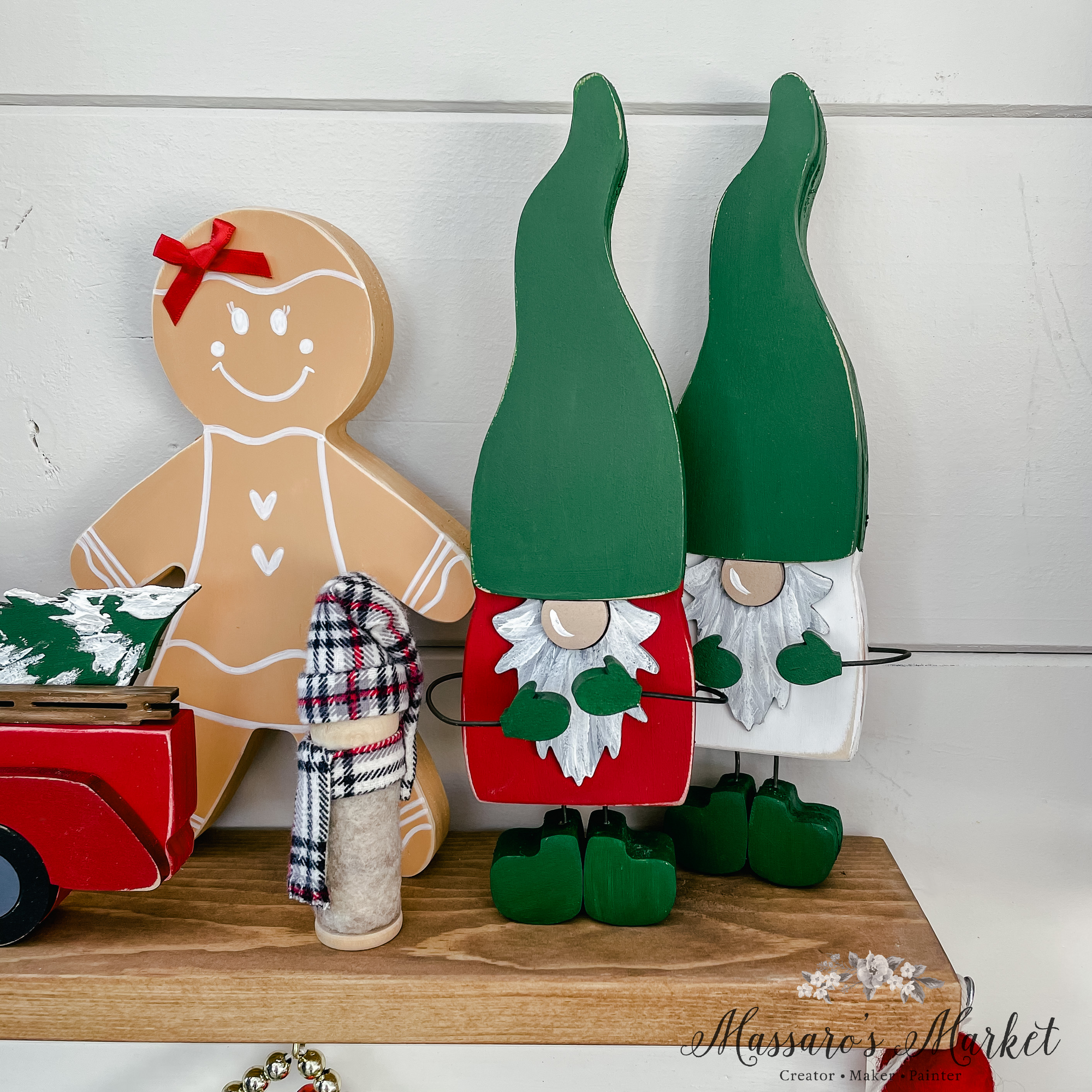 Holiday Gnome, Christmas, Holiday, Decor