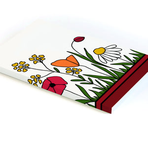 Wild Blooms, Lined Notebook