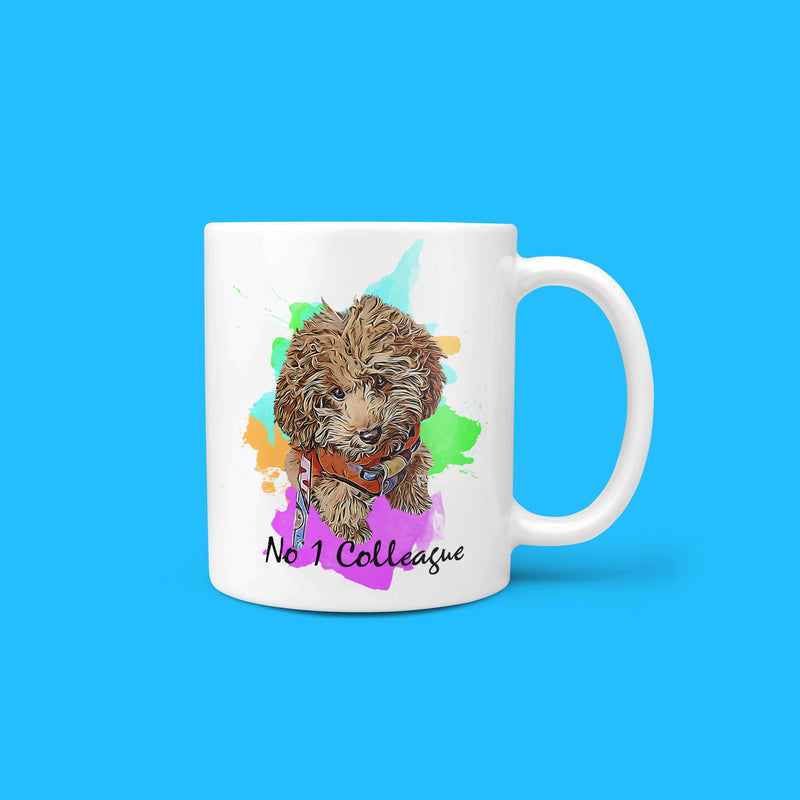 Personalisable - No.1 Colleague Pet Mug