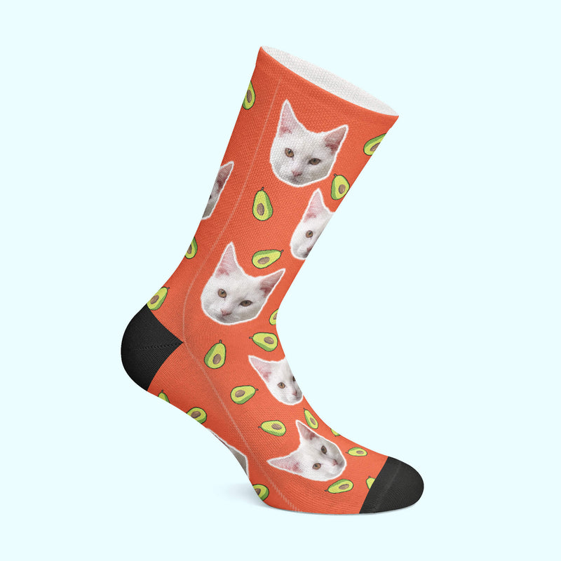 Customizable - Avocado Pet Socks