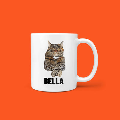 Personalized Pet Mug - Portrait