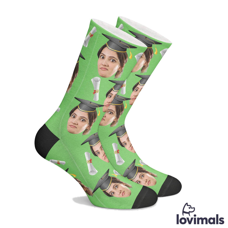 Personalized Graduation Socks