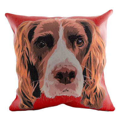 Custom Pet Face Pillow Cover