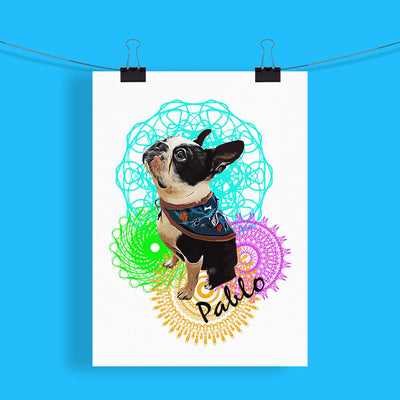 Personalised Pet Print - Mandala