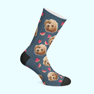 Customizable - Watermelon Pet Socks