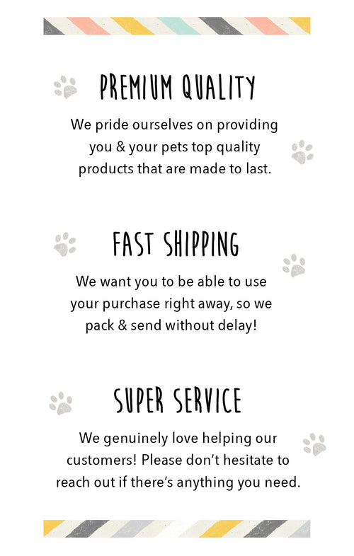 Pipco Pets Values - Premium Quality, Fast Shipping, Super Service