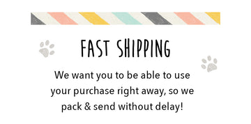 Fast Shipping - We want you to be able to use your purchase right away so we pack and send without delay