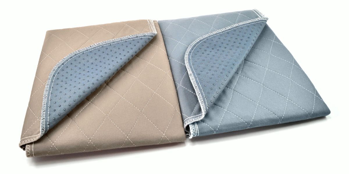 Pipco Pets Washable Puppy Pads Australia - Natural Beige and Charcoal Grey