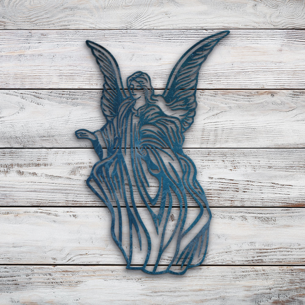 Angel | Blue Hippo Metal Art