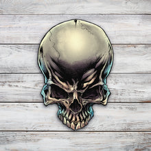 Load image into Gallery viewer, Skull | Blue Hippo Metal Art