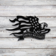 Load image into Gallery viewer, United We Stand | Blue Hippo Metal Art